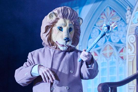 Auch die Verwandlung in einen wilden Löwen schafft Aloisius Grimmbart mit links.